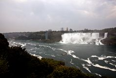 Niagara Falls Daytime Royalty Free Stock Photography