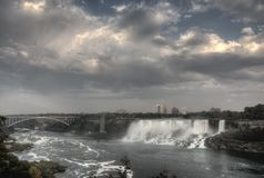 Niagara Falls Daytime Stock Photo
