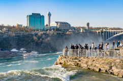 Niagara Falls de V Royalty-vrije Stock Afbeeldingen