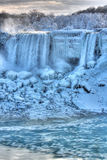 Niagara Falls in de Winter Stock Fotografie