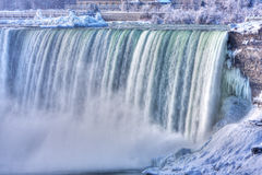 Niagara Falls in de Winter Royalty-vrije Stock Fotografie