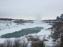 Niagara Falls in de winter Royalty-vrije Stock Fotografie