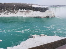 Niagara Falls, de Winter Stock Foto