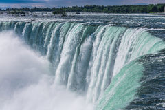 Niagara Falls do lado canadense imagem de stock