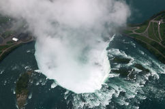 Niagara Falls du ciel Photo stock