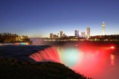 Niagara Falls at dusk Royalty Free Stock Photos