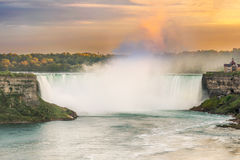 Niagara Falls em Ontário, Canadá Imagem de Stock