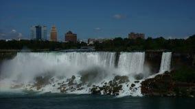 Niagara Falls em um dia de verão de Prestine Fotografia de Stock Royalty Free