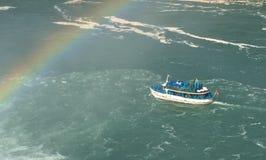 Niagara Falls, empregada doméstica da névoa Fotos de Stock Royalty Free