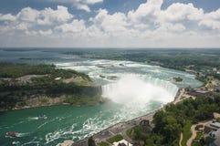 Niagara Falls en Canadá Foto de archivo libre de regalías