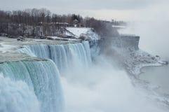 Niagara Falls en invierno Foto de archivo libre de regalías