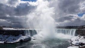 Niagara Falls en la primavera Imágenes de archivo libres de regalías