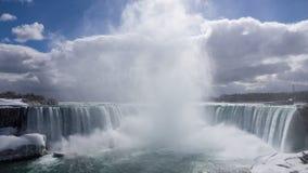 Niagara Falls en la primavera Imagen de archivo libre de regalías
