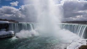 Niagara Falls en la primavera Fotos de archivo libres de regalías