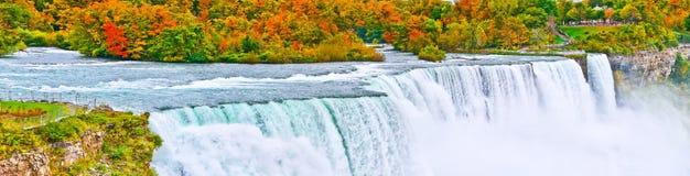 Niagara Falls en otoño Imagen de archivo libre de regalías