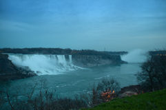 Niagara Falls at the end of the day Royalty Free Stock Image