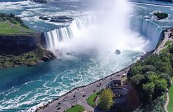 Niagara Falls: Ferradura Imagem de Stock Royalty Free