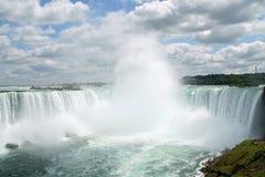 Niagara Falls a ferro di cavallo Fotografia Stock