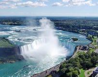 Niagara Falls: Ferro di cavallo Fotografie Stock Libere da Diritti