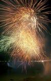 Niagara Falls Fireworks Stock Image