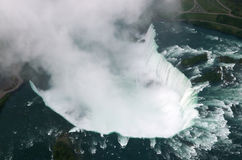 Free Niagara Falls From The Sky Stock Image - 4301501
