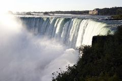 Niagara Falls - Horseshoe Falls (Canadian Falls) Royalty Free Stock Photos