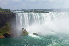 Niagara Falls. Horseshoe Waterfall. Stock Images