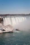 Niagara Falls (Horseshoe) in Winter. The Horseshoe Falls on the Niagara River in winter Royalty Free Stock Photo