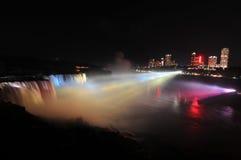 Free Niagara Falls Illumination Stock Photography - 25710402