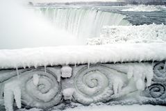 Niagara Falls im Winter Lizenzfreies Stockbild