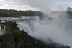Niagara Falls 4. Impressive waterfall.An unique natural phenomenon Stock Images