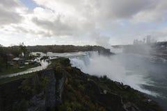 Niagara Falls 5. Impressive waterfall. A unique natural phenomenon Stock Image