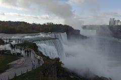 Niagara Falls 7. Impressive waterfall. A unique natural phenomenon Stock Photography