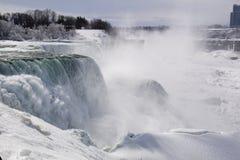 Niagara Falls in inverno Immagine Stock Libera da Diritti
