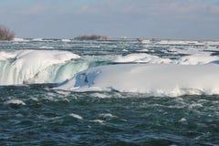Niagara Falls in inverno Immagini Stock Libere da Diritti