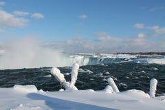 Niagara Falls in inverno Fotografie Stock