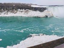 Niagara Falls, inverno Foto de Stock