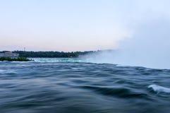 Niagara Falls kant Fotografering för Bildbyråer