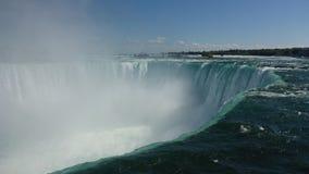 Niagara Falls klyfta i sommar arkivbilder