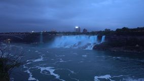 Niagara Falls - the Largest Waterfall In North America stock video