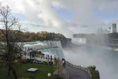 Niagara Falls 1. Lovely view on the largest waterfall Royalty Free Stock Images