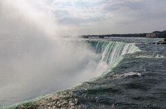 Niagara Falls with mist Stock Photography
