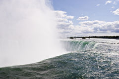 Niagara falls mist midday Royalty Free Stock Photo