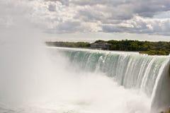 Niagara falls mist midday Royalty Free Stock Image