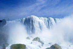 Niagara Falls Mist in New York, USA. Beautiful Niagara Falls Mist in New York, USA Stock Photos