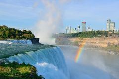 Niagara Falls in the morning Royalty Free Stock Image