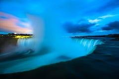 Niagara Falls Nagara River Canada. Famous Niagara Falls Niagara River international landmark famous place Ontario Canada royalty free stock photography