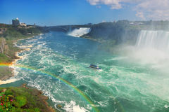 Niagara Falls negligencia Foto de Stock