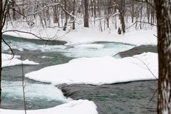 Niagara Falls, New York. Frozen Royalty Free Stock Image