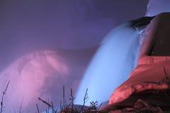 Niagara Falls, New York. Frozen Falls at Niagara Falls, New York Royalty Free Stock Images